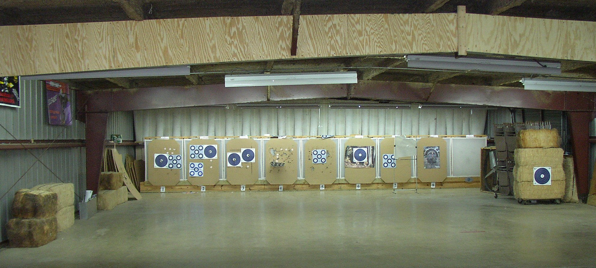 Picture of indor Shooting Range